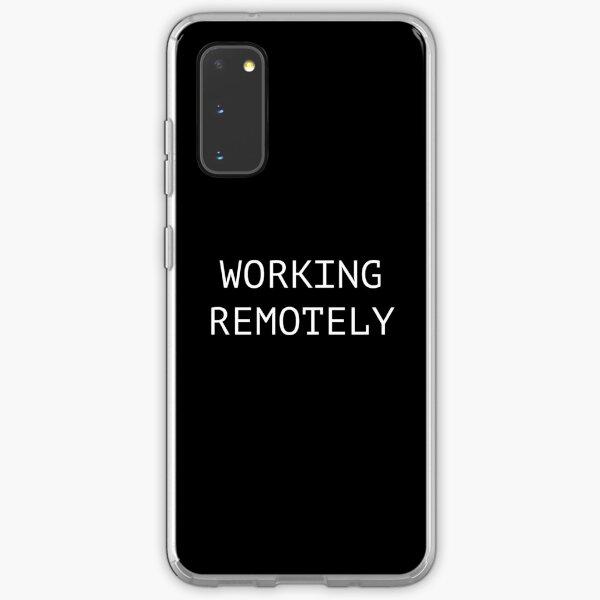 Working Remotely Samsung Galaxy Soft Case