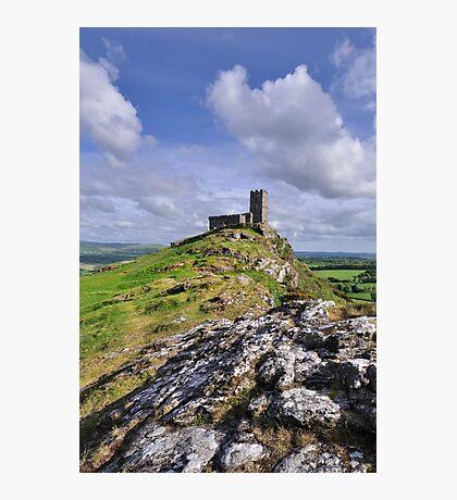 Brentor Church - Devon Photographic Print
