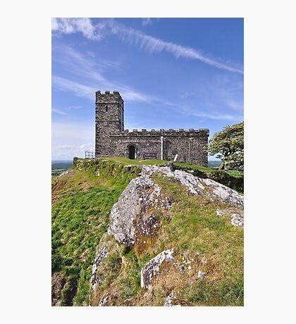 Brentor Church - Dartmoor, Devon Photographic Print