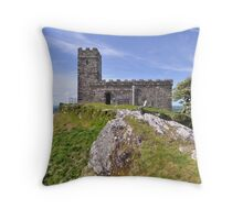 Brentor Church - Dartmoor, Devon Throw Pillow