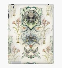 Antique pattern - Spider and Moths iPad Case/Skin