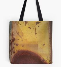 yellow grey rust 4 Tote Bag