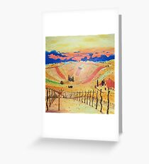 Southern Styria, Painting 1 Greeting Card