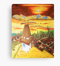 Southern Styria, Painting 2 Canvas Print