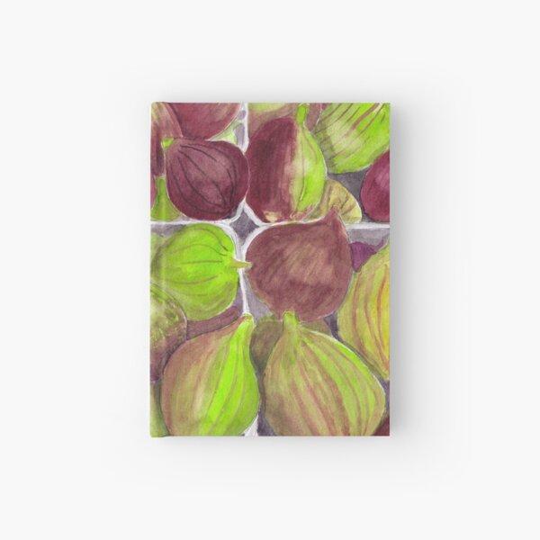 Jerusalem Figs - Realistic Watercolor Hardcover Journal