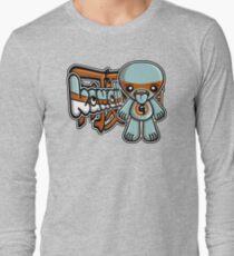 Greedy Mascot Tag Long Sleeve T-Shirt