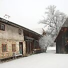 Christmas eve in Sankt Georgen - Austria by Arie Koene