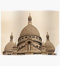 Montmatre, Sacre-Coeur - Artistic Poster
