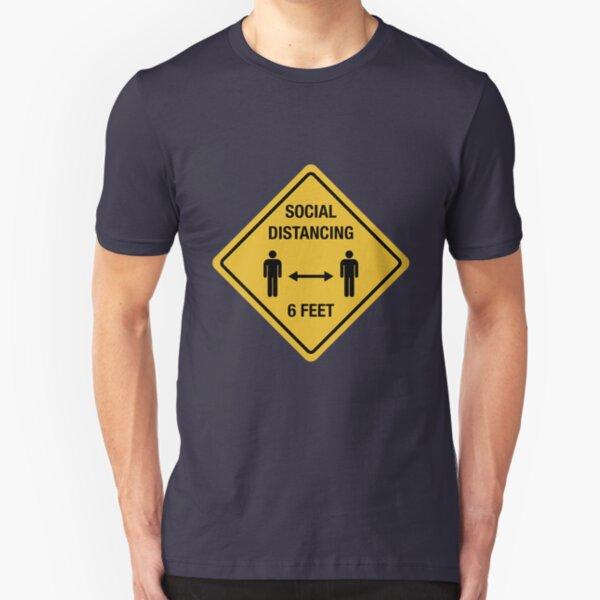 Social Distancing Slim Fit T-Shirt