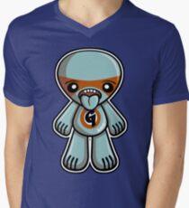 Greedy Mascot Men's V-Neck T-Shirt