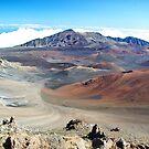 Mt. Haleakala crater by Marda Bebb