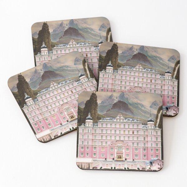 Grand Budapest Hotel Coasters (Set of 4)