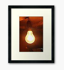 Bulb Framed Print
