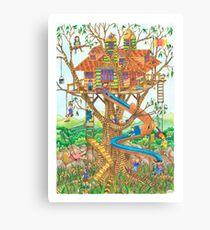 Lofty Playground Canvas Print