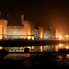 Caernarfon Castle by RH-prints
