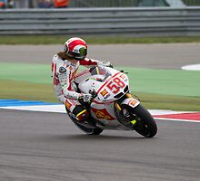 Marco Simoncelli in Assen 2011 by corsefoto