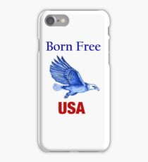 Free in The USA iPhone Case iPhone Case/Skin