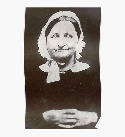 Smile, Mrs. Simmons ~ From A Daguerreotype Poster