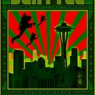 SEATTLE - THE EMERALD CITY by GUS3141592