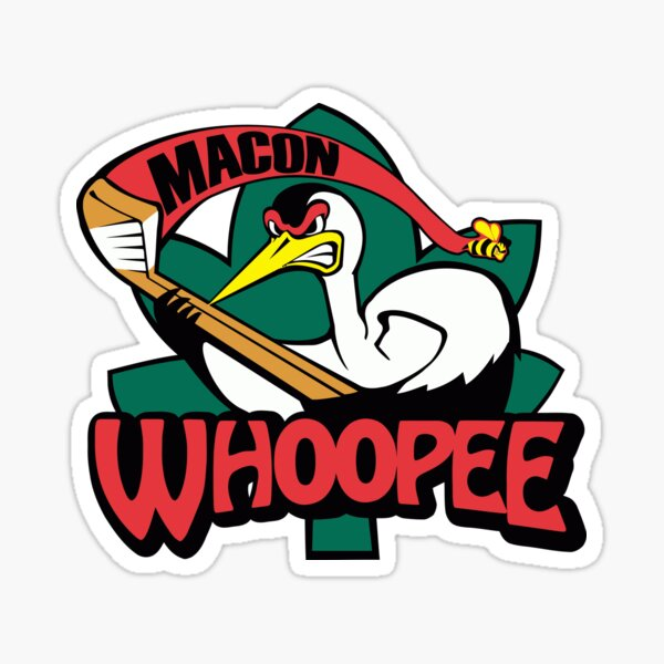 Macon Whoopee Sticker