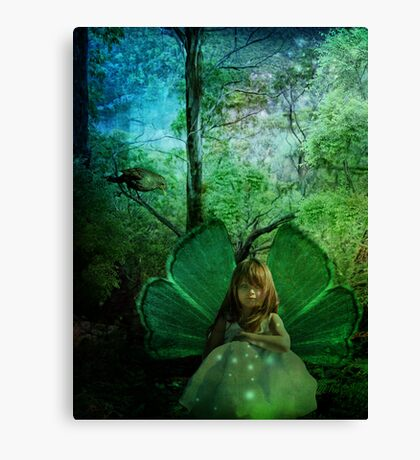 Sparkles in Nature Canvas Print