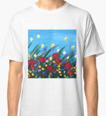 Wildflowers Dancing Classic T-Shirt