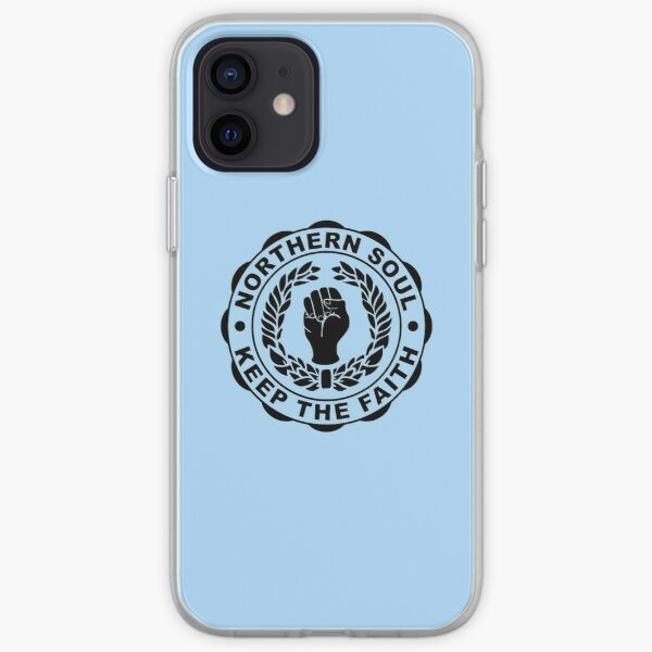 Classic Northern Soul Keep the Faith iPhone Soft Case