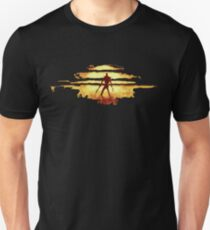 Giant God Warrior - Silhouette T-Shirt