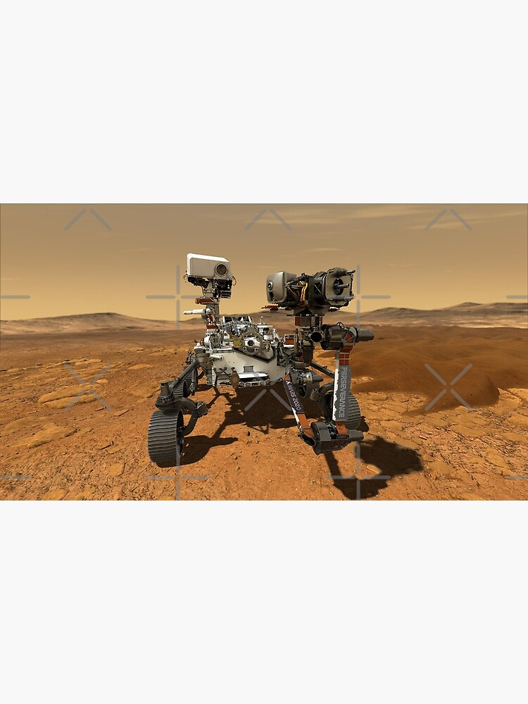 Mars Perseverance Rover - Mars Mission 2020 by adaba