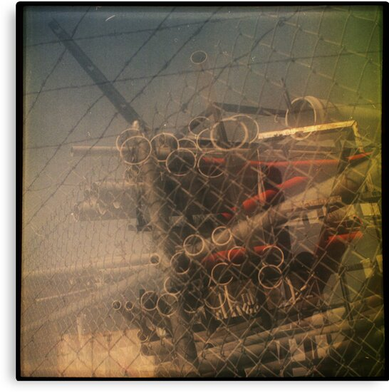 tubes and wires by Jill Auville