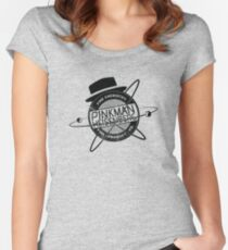 Pinkman & Heisenburg. Women's Fitted Scoop T-Shirt