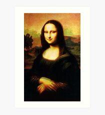 mona + 50% Isleworth Art Print