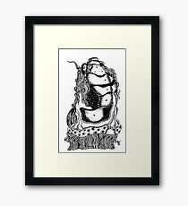 Hide & Seek Framed Print