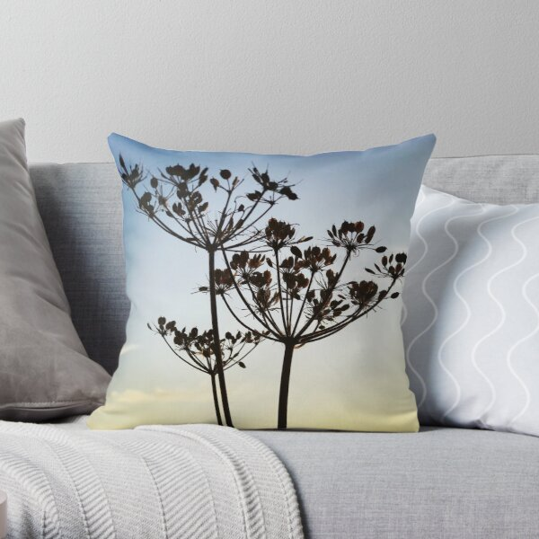 pillow cover with cushion pad. Summertime Daisy cushion