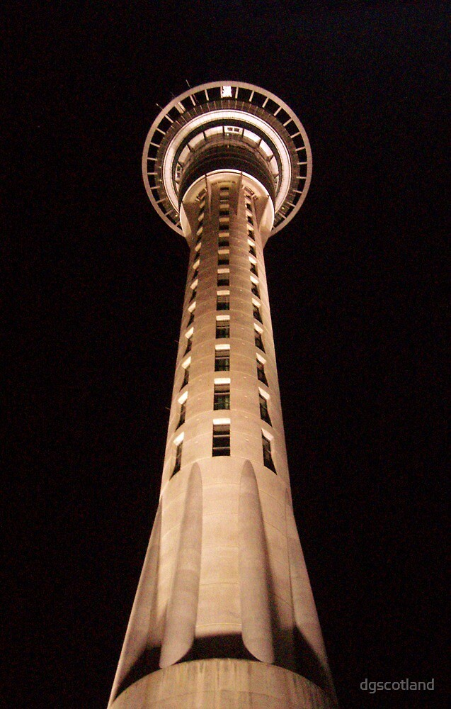 Skytower in Aukland by dgscotland