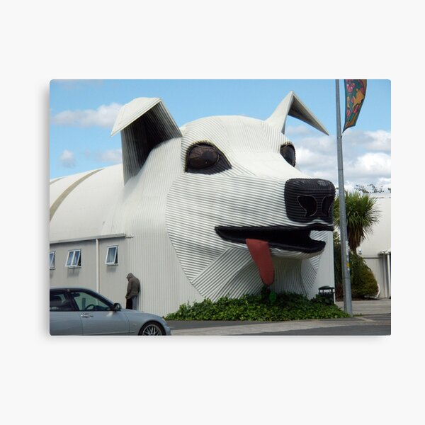 A Mad Dog House Canvas Print
