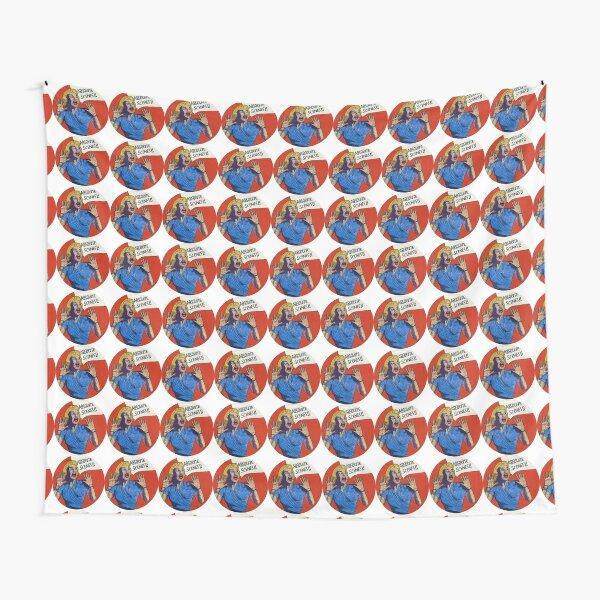 Pop Art Retro Feminist Art Advertising Humorous Art  Tapestry