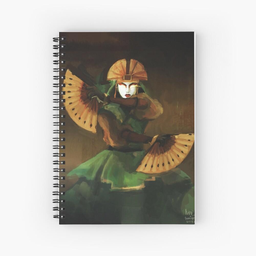 Avatar Kyoshi Spiral Notebook