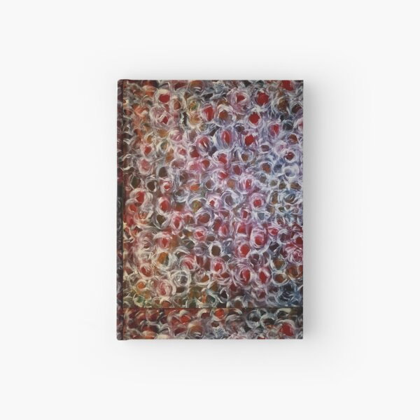 Bud, buds, red, white Hardcover Journal