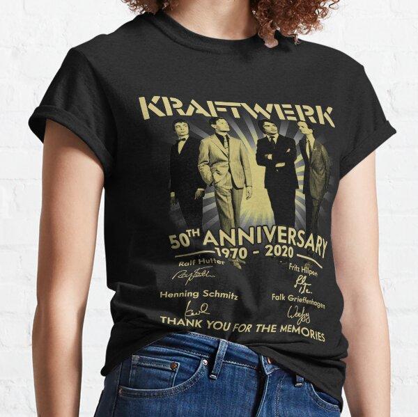 Kraftwerk.50th Anniversary 1970-2020 Signature Thank You Classic T-Shirt