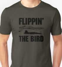 Flippin the Bird Unisex T-Shirt