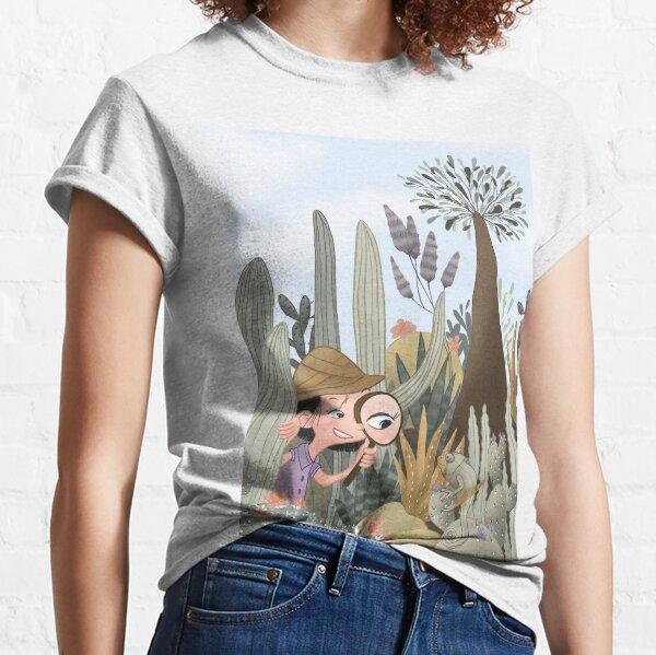 Entdeckungsreise Kakteen Safari Classic T-Shirt