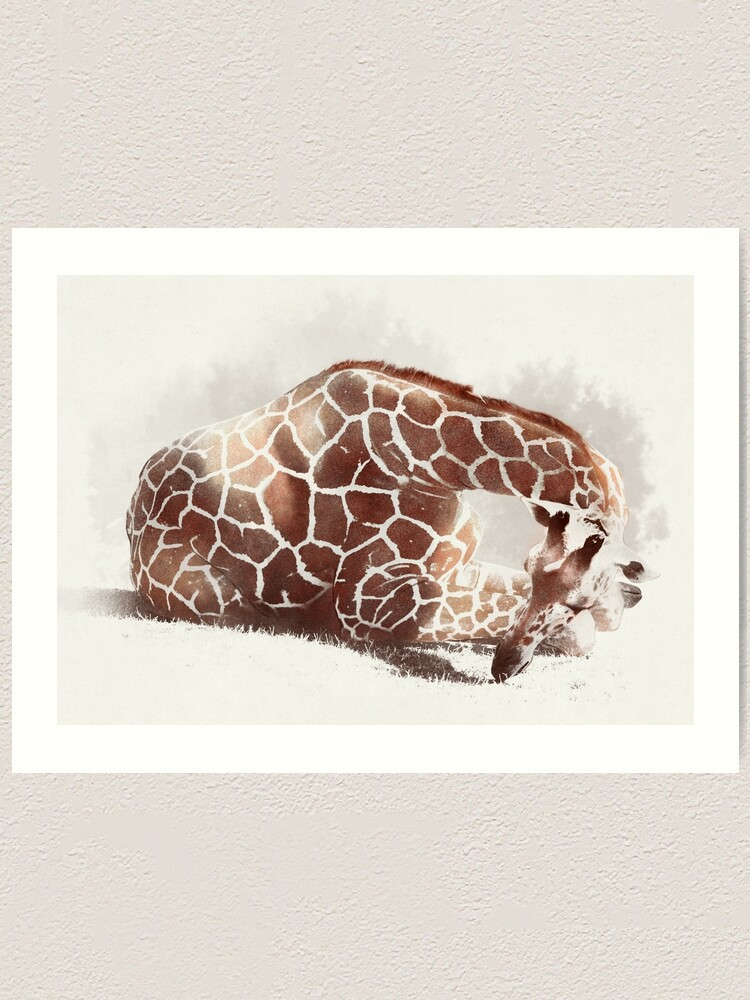 Alternate view of Giraffe Art Print