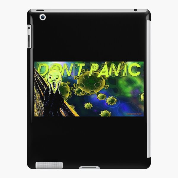 Don't Panic iPad Snap Case