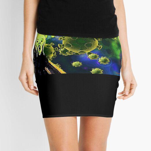 Don't Panic Mini Skirt