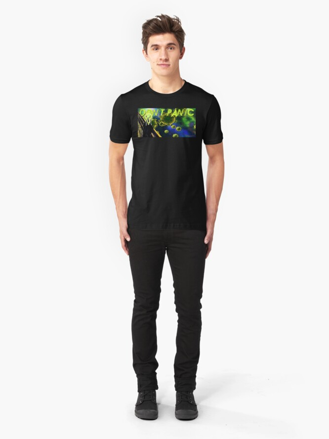 Alternate view of Don't Panic Slim Fit T-Shirt