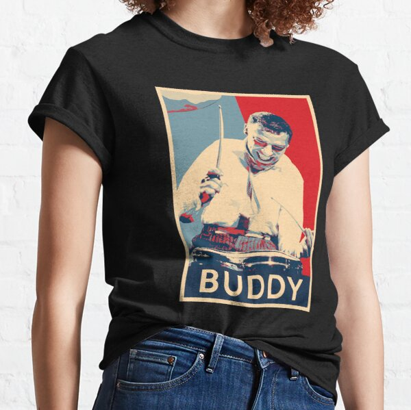 Buddy Rich Hope Poster - Greats of Jazz Music History Classic T-Shirt