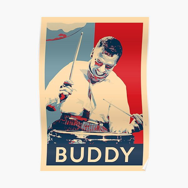 Buddy Rich Hope Poster - Greats of Jazz Music History Poster