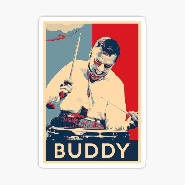 Buddy Rich Hope Poster - Greats of Jazz Music History Sticker