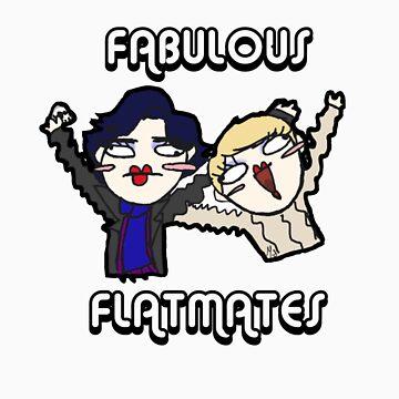 Fabulous Flatmates by MichiiiFreeman